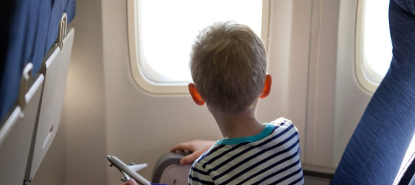 Make this trip an easy, relaxing one by keeping your child occupied.