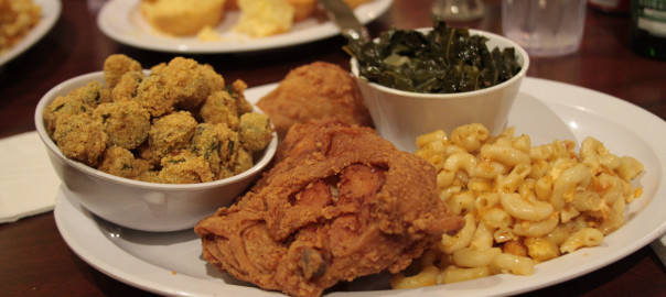 Sylvia's Down Home Fried Chicken and Sylvia's World Famous Talked About Bar-B-Que Ribs