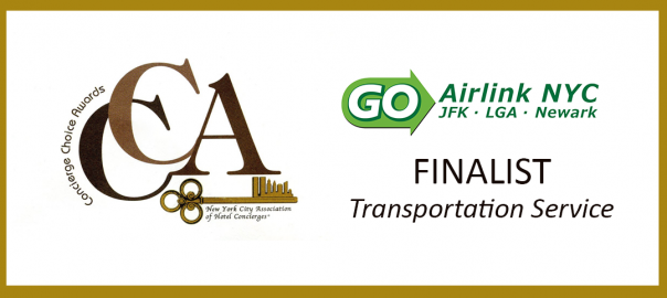 GO Airlink NYC Celebrates Their Nomination as a Finalist for Exceptional Service